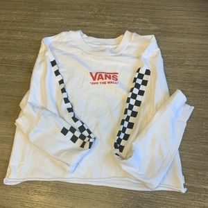 Vans long sleeve never worn no tags